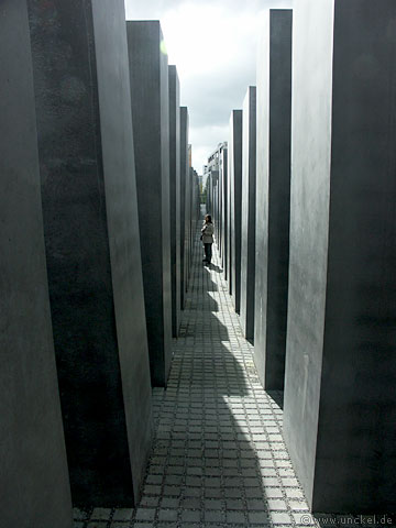 Holocaust Denkmal Berlin, Berlin 2007