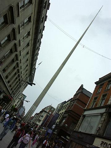 Dublin Spire - 120m hoch, 3m Durchmesser am Fuß!, Ireland - Éire 2006