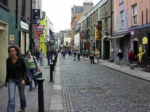 Kopfsteinpflaster in Dublin, Ireland - Éire 2006