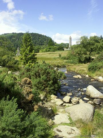 Klosteranlage bei Wicklow, Ireland - Éire 2006