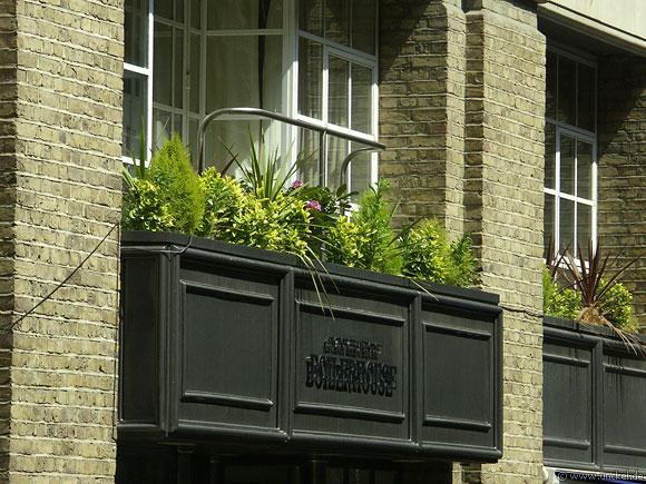 Balkon, London 2006