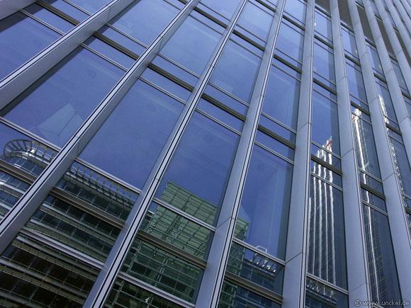 Bei Canary Wharf, London 2006
