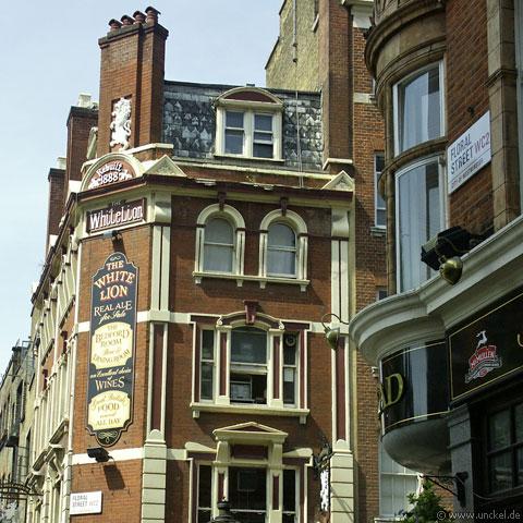Nähe Covent Garden, London 2006