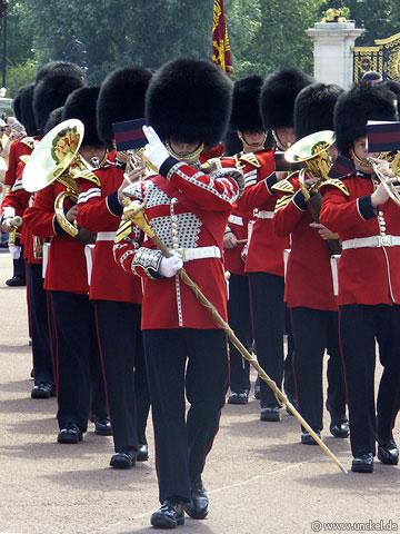 Parade beim Buckingham Palace, London 2006
