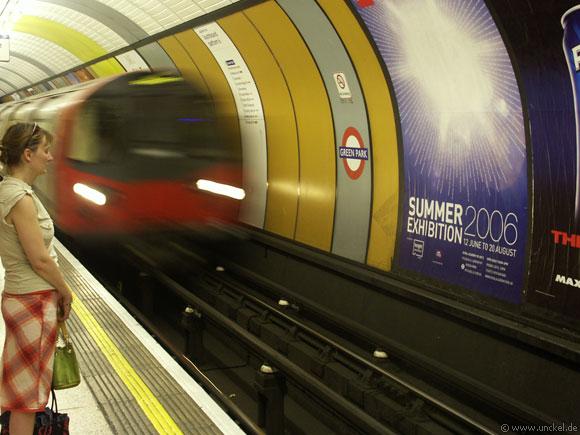 Londoner U-Bahn - Tube, London 2006