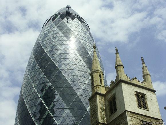 Swiss Re Building, London 2006