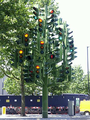 Traffic Light Tree, London 2006