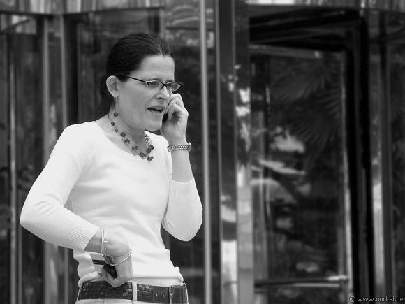 Business Woman, London 2006