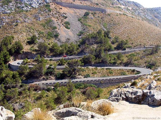 Entlang der Ostküste, Mallorca 2003