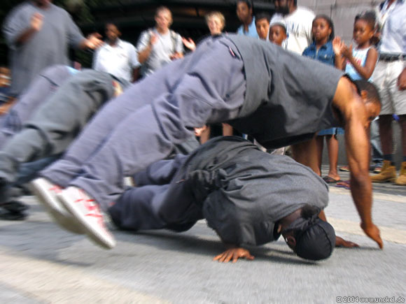 Breakdance, New York 2004