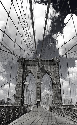 Brooklyn Bridge, New York 2004
