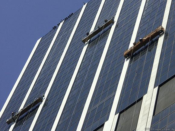Fensterputzer, New York 2004