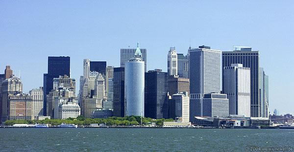 Skyline von Manhatten, New York 2004