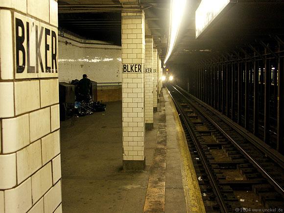 New Yorker U-Bahn, New York 2004