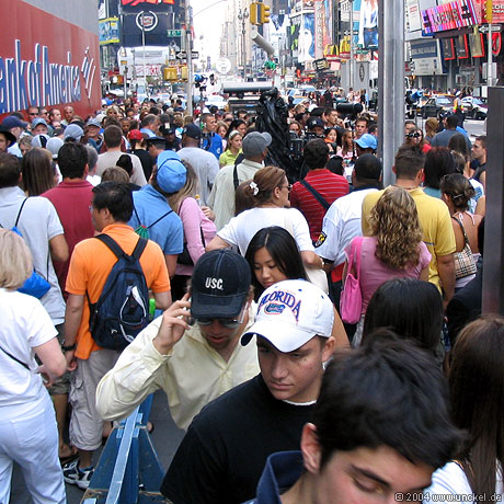 Times Square, New York 2004