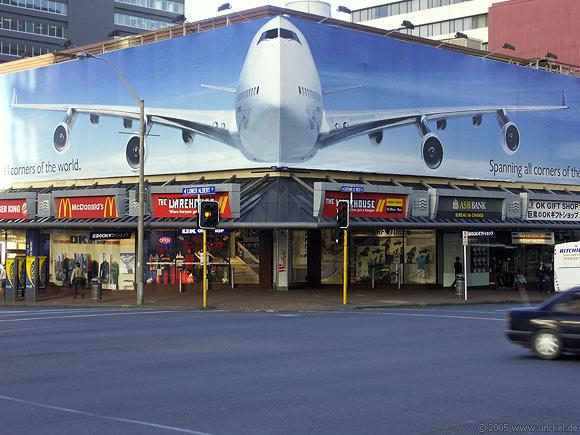 24 Stunden Flugzeit von Deutschand, New Zealand - Aotearoa 2004/05