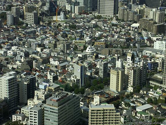 Übersicht, Tokyo - 東京 2005