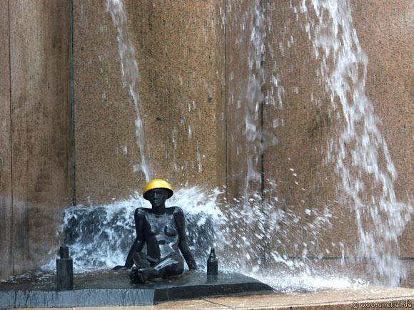 Brunnen am Breitscheidplatz, Berlin 2007