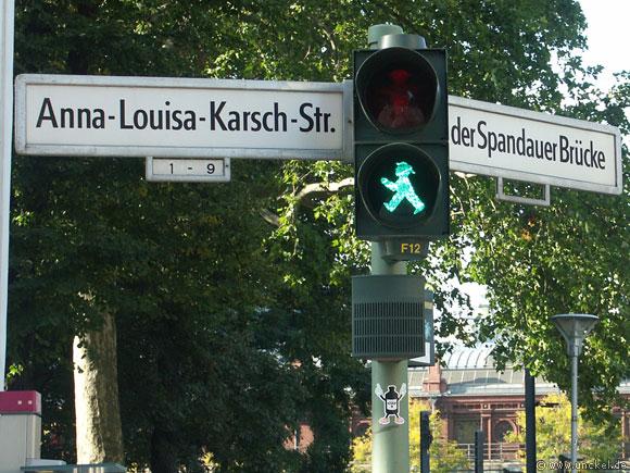 DDR Ampelmännchen, Berlin 2007