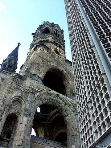 Kaiser-Wilhelm-Gedächtniskirche - berlinerisch Hohler Zahn, Berlin 2007