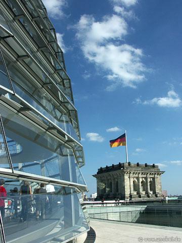 Dachterrasse Deutscher Bundestag, Berlin 2007