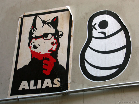 Streetart, Berlin 2007