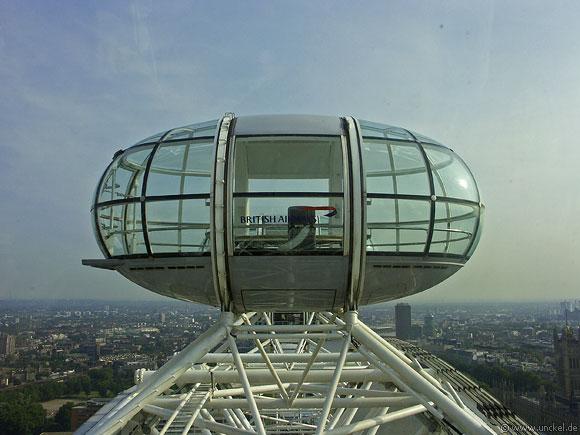 London Eye Kabine, London 2006