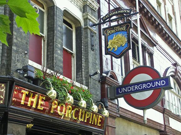 The Porcupine, London 2006