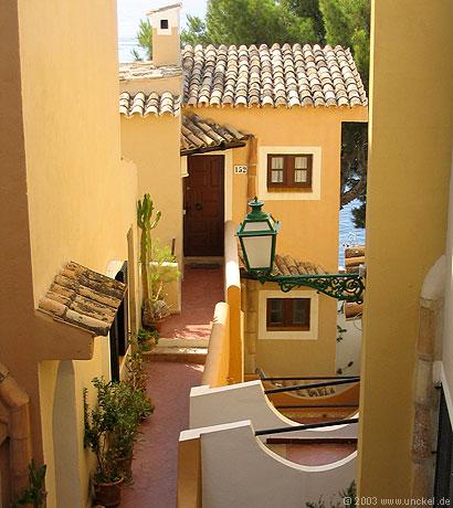 Ferienanlage bei Fornells, Mallorca 2003