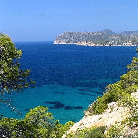 Bucht von Paguera, Mallorca 2003