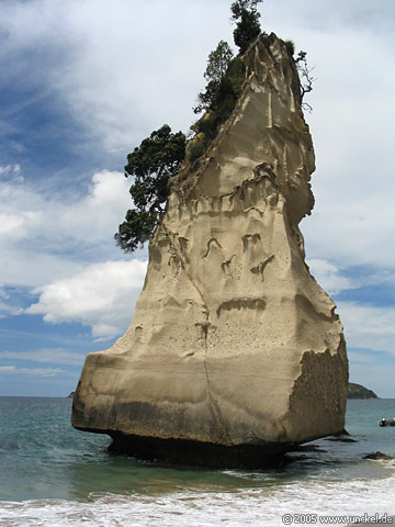 Cathedral Cove, New Zealand - Aotearoa 2004/05