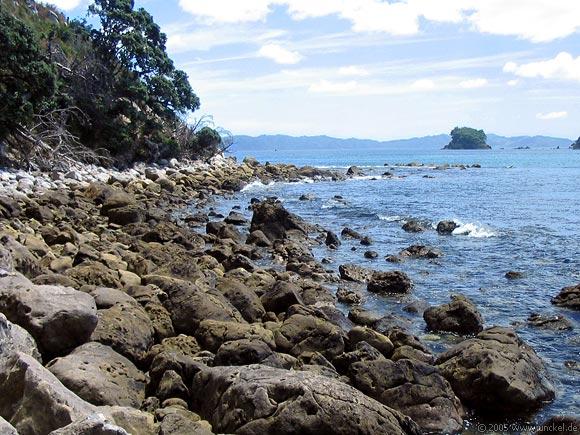 Gemstone Bay bei Hahei, New Zealand - Aotearoa 2004/05