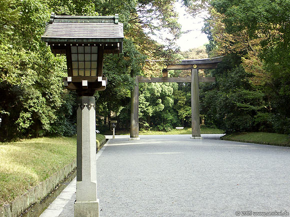 Meiji Jingu Shrine Park, Tokyo - 東京 2005