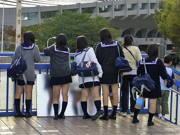 Schuluniform in gekürzter Fassung, Tokyo - 東京 2005